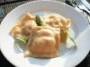 Ravioli z dynią i serem feta