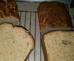 szybki chlebek na zakwasie żytnim
