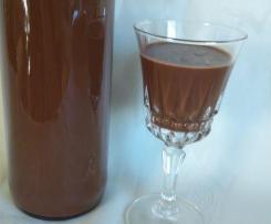Likier czekoladowo-miętowy
