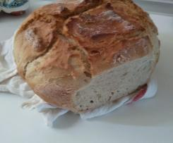 Chleb z gara na maslance