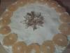 Tort serowo-mandarynkowy