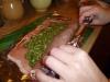Schab  ze szpinakiem i suszonymi pomidorami