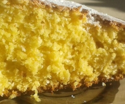 Ciasto kukurydziane z kokosem
