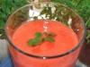 Koktajl (pomarańcza, truskawki, gruszka)