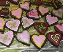 Walentynkowe serduszka