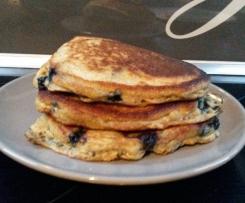 Zdrowsze pancakesy, naleśniki amerykańskie