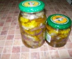 Baklazany w oliwie