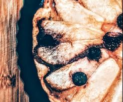 Aromatyczna tarta gruszkowo-malinowa