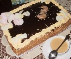 Tort Fantazja czekoladowo- śmietankowa