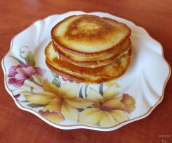Pancakes na śmietanie i mleku