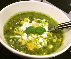 Lekka zupa ziemniaczano-szpinakowa (rozszerzanie diety / BLW )