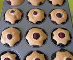 Muffinki sezonowe z owocami