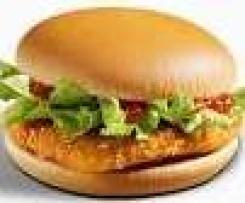 Pikantny Kurczakburger