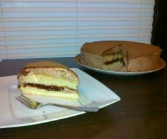Ekspresowy tort z nutellą