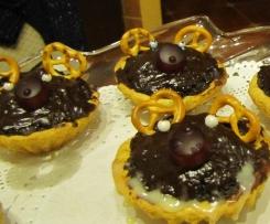 Świąteczne babeczki z makiem-renifery