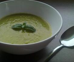 zupa-krem z brokuła i pora