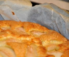 Ciasto gruszkowo - imbirowe