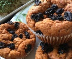 Muffinki dyniowe z rodzynkami