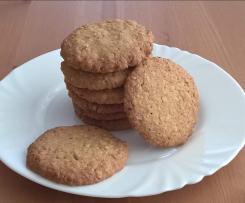 ciasteczka owsiane dla Wojtka