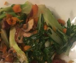 Warzywa z woka (Stir fry veggies)