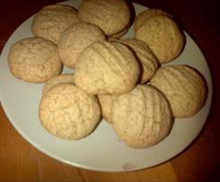 Kruche ciasteczka żytnie