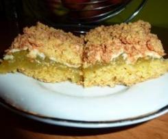 Pyszne ciasto kruche z rabarbarowym dżemem :-)