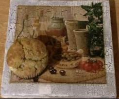 Muffinki z fetą i oliwkami