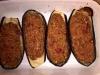 Bakłażany faszerowane kaszą jaglaną i warzywami