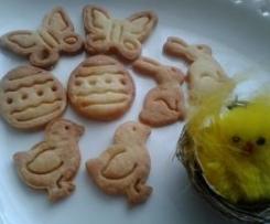 Wiosenne ciasteczka maślane