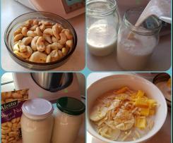 Mleko z nerkowców w 3 minuty