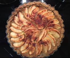 Tarta z jabłkami (bez glutenu i laktozy)