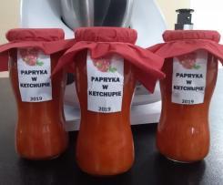 Papryka w ketchupie (sos słodko-kwaśny)
