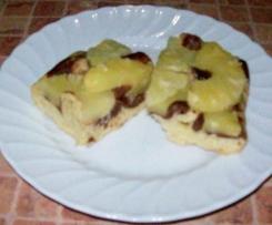 """ Piaskowy marmurek "" z ananasem"