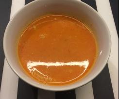Zupa krem z papryki czerwonej