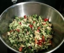 Rewelacyjna Salatka brokulowa