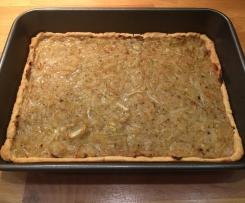 Tarta wytrawna / spód tarty na słono / kruche ciasto