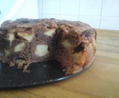 Kakaowy jabłecznik